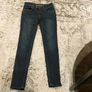 American eagle dark jeans jeggings